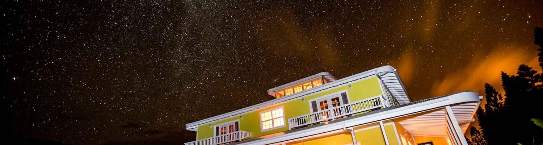 Night Sky at Kalaekilohana Inn & Retreat Hawaii