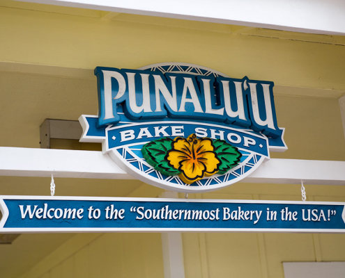 Punalu'u Bake Shop - Southernmost Bakery in the US