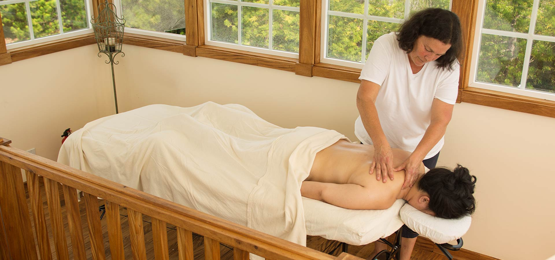 Enjoy a massage at Kalaekilohana Inn & Retreat