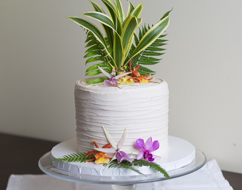 Wedding Cake from Kalaekilohana Inn and Retreat - Na`alehu, Hawaii