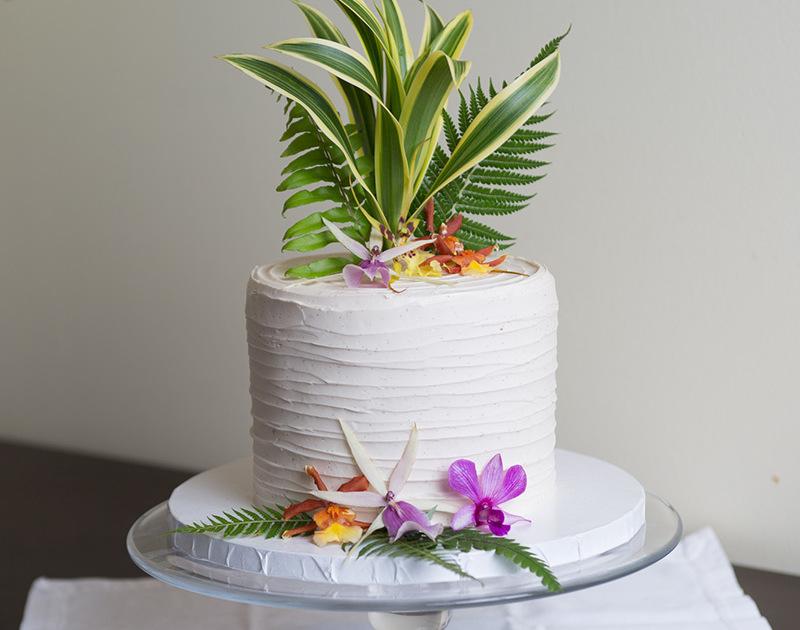 Wedding Cake from Kalaekilohana Inn and Retreat - Na`alehu, Hawaii